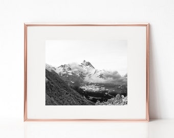 Mountain Highland Wall Art, Printable Art, Photography Print, Wall Decor, Wall Art, Digital Print