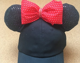 Minnie Inspired Ear Hat