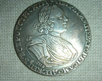 RUSSIA 1725 Peter I  Russian rouble