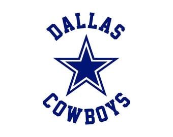 Dallas Cowboys Cut Files, Dallas Cowboys SVG Files, Dallas Cowboys SVG Cutting Files, Dallas Cowboys Cuttable SVG Cut File, Instant Download