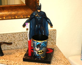 Batman Toothbrush Holder (#163)