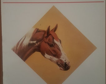 How to Draw and Paint Horses Heads by Don Schwartz Book 135 Walter Foster Publishing Vintage Art Drawing Collectable