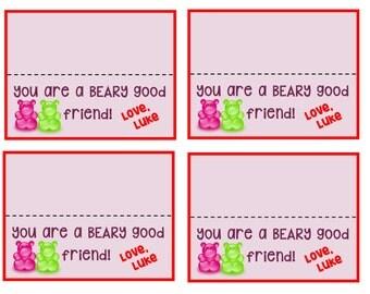 Gummy Bear Valentine