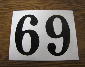 Door Number Plate