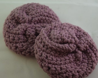 Face Scrubbies Set - Purple
