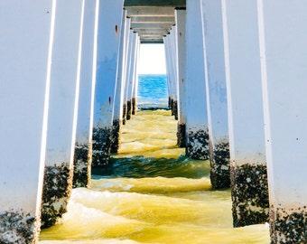 Beneath a Florida Pier