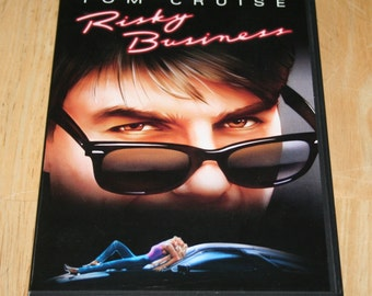 Risky Business--Tom Cruise--Writer and Director Paul Brickman--1983--DVD--Free Shipping