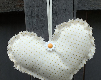 Handmade Hanging Heart Decoration
