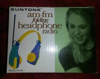 Am/Fm radio headphones