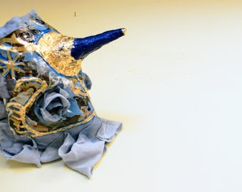 El Unicornio Azul - Mask collectable hand made