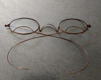Vintage Eyeglasses FW King Co Cleveland