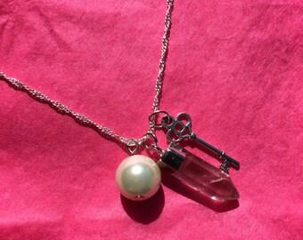 Key & Sea Necklace