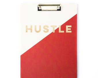 Fun Hustle Office Clipboard/ Hustle Office Items/ Cool Clipboard/ Hustle Clipboard