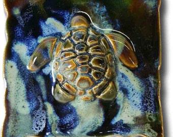 Turtle - Ceramic Tile 5x5