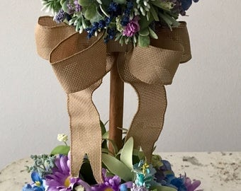 Floral Topiary ~ Rustic ~ Spring ~ Wedding