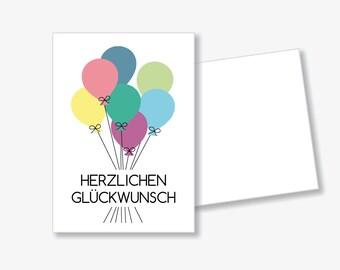 """Postcard """"Congratulations"""""""