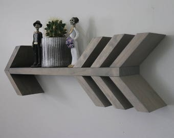 Single Arrow Wooden Shelf (Small)