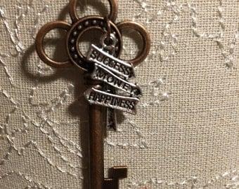 The Key to Success Idiom Pendant