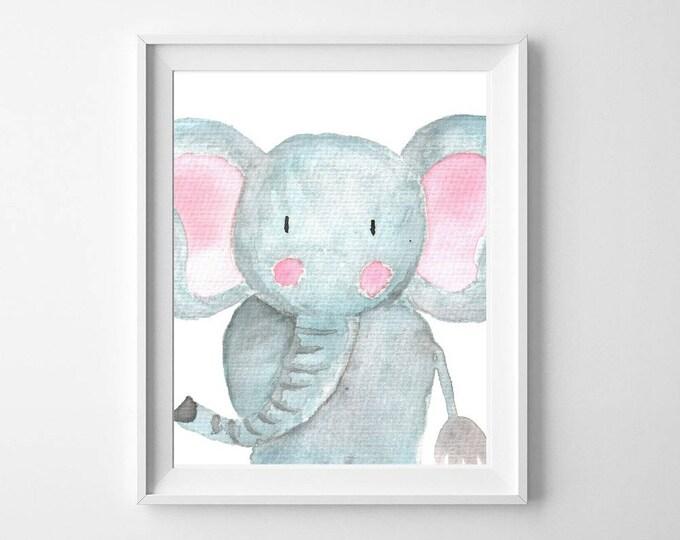 Nursery Decor, Nursery Wall Art, Woodland Nursery, Baby Shower Gift, Nursery Art, Woodland Animals, Instant Download, Wall Art, Easter