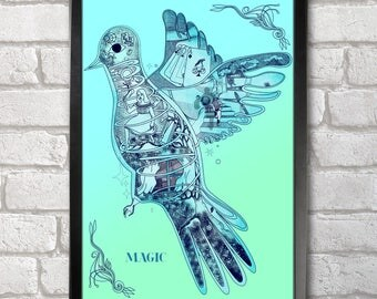Magic Poster Print A3+ 13 x 19 in - 33 x 48 cm Ghost Stories Buy 2 get 1 FREE