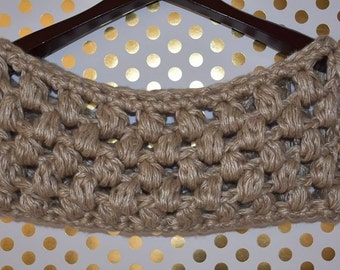 The Adahlia Cowl: Ready-to-ship // Puff stitch cowl, infinity scarf