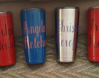Personalized Tumblers- 20 oz and 30 oz