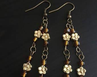 Flower Dangling Earring