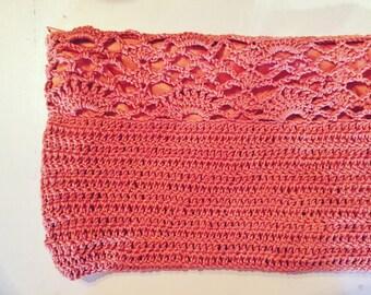 Crochet clutch fans