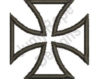 Maltese Cross - Machine Embroidery Design