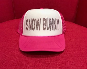 Snow Bunny Trucker Hat