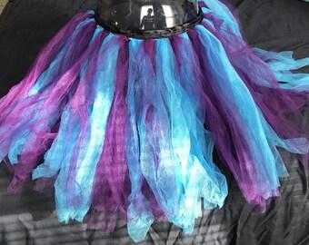 Blue and purple tutu