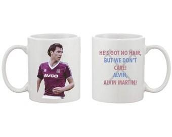 Alvin Martin West Ham United Mug