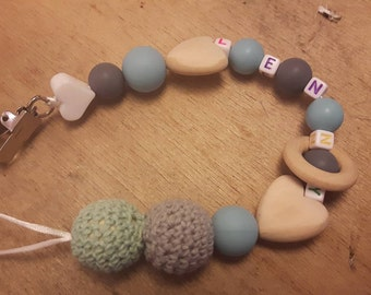 Personalized pacifier home