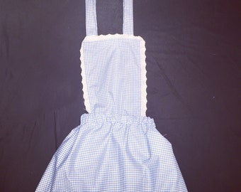 Blue pinafore dress - dorothy - wizard of oz - costume - cosplay - gingham