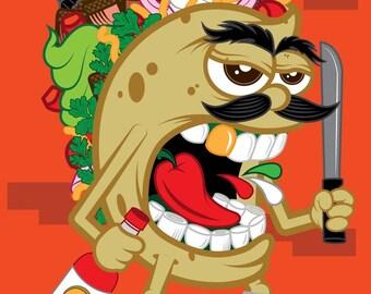 Street Taco Poster
