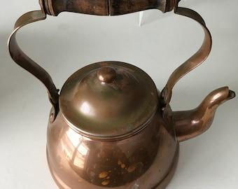 Vintage Duoro Copper Tea Pot Tea Kettle