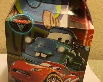 Cars Treat Boxes 10 Count