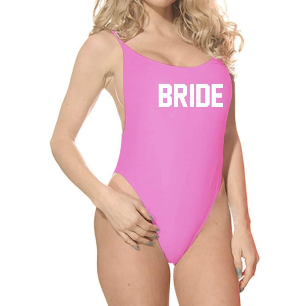 Bride One Piece Bathing Suit