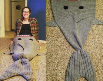 Shark Snuggle Sack