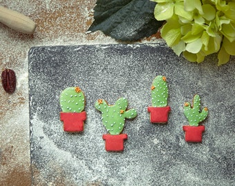 Cactus Cookie Cutter Set