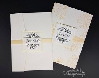 CJ01 wedding invitation