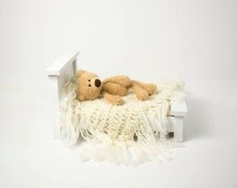 Handmade newborn  bed photo prop