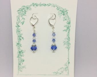 Spring Blue Earrings