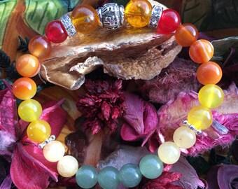 Self-Confidence and Creativity Crystal Healing Bracelet