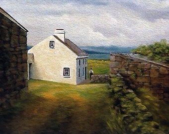 Pencil Signed Extra Large Prints Of My Irish Original Landscape Paintings