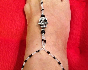 Foot Jewelry Black & White