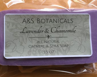 5.5 oz Oatmeal & Shea Soap