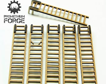 "5"" Ladders for 28mm War Gaming"
