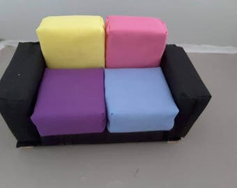 barbie doll sofa for dolls