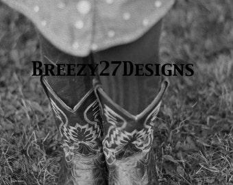 "Photography: ""Little Cowboy Boots"""